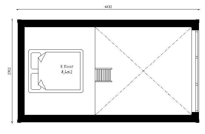 Sovloft våning 2