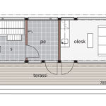Glass House E, G, H - Planlösning 2